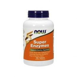 Now Foods Super Enzymes 180 kapsułek (1000 mg) NOW FOODS