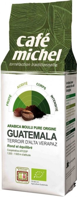 KAWA MIELONA ARABICA 100% GWATEMALA FAIR TRADE BIO 250 g - CAFE MICHEL