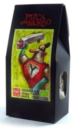 YERBA MATE GUARANA POWER (Z GUARANĄ) BIO 100 g - PIZCA DEL MUNDO